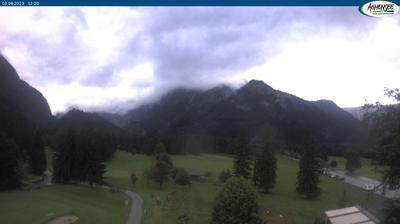 Vista de cámara web de luz diurna desde Pertisau: Feilkopf − Achensee − Karwendel