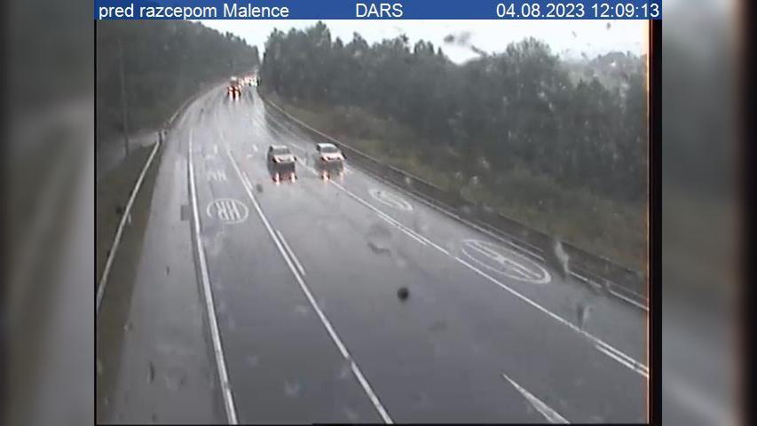 Webcam Daljna Vas: A1/A2/E70, Ljubljana − južna obvoznica
