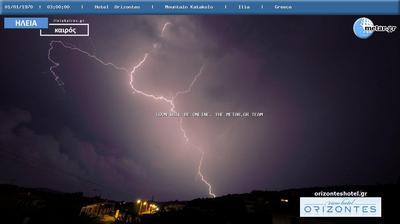Vista de cámara web de luz diurna desde Κατάκολο › East: Λιμάνι Κατακόλου, Πύργου Ηλείας