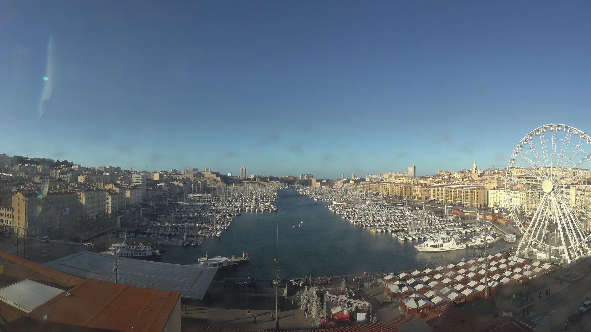 Webcam Marseille 02: Marseille-panoHD
