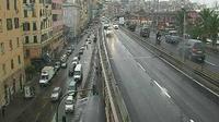 San Teodoro: Genova, Sopraelevata, Via Gramsci, Ponte Doria - Dagtid