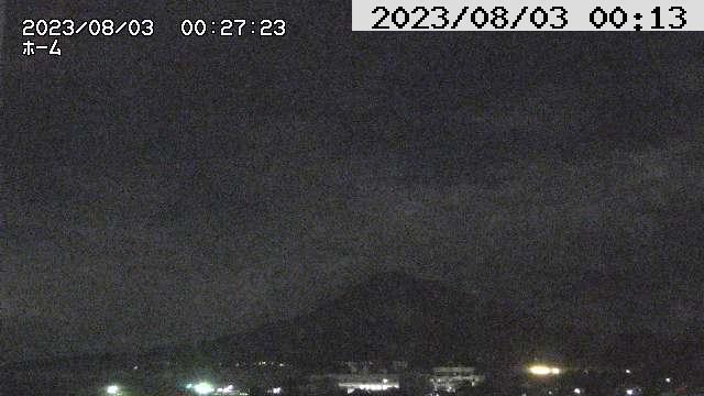 Webkamera 垂水: Sakurajima volcano, Tarumi