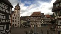 Mosbach: Marktplatz - Overdag