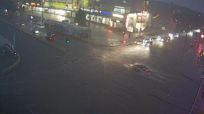 Vue webcam de jour à partir de Voznesenka: г. Запорожье Универмаг