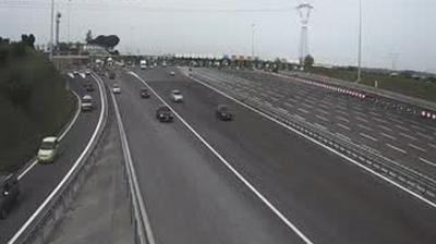 Webcam Casale Granaraccio: A24 Barriera Roma Est