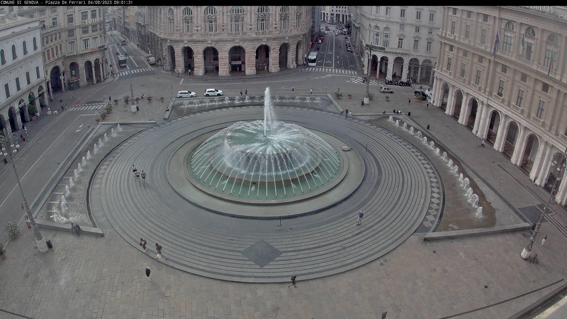 Webcam Genoa: Piazza De Ferrari