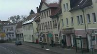Markranstadt › South: Wettercam - Blick auf Schkeuditzer Straße (B ) Richtung Süden - Jour