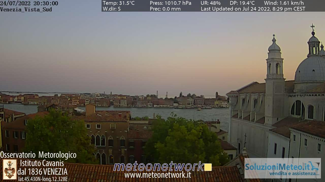 Webcam Venice › South