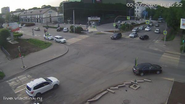 Webkamera Ussuriysk: Некрасова − Комсомольская