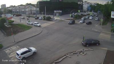 Уссурийск: Уссурийск, Некрасова - Комсомольская