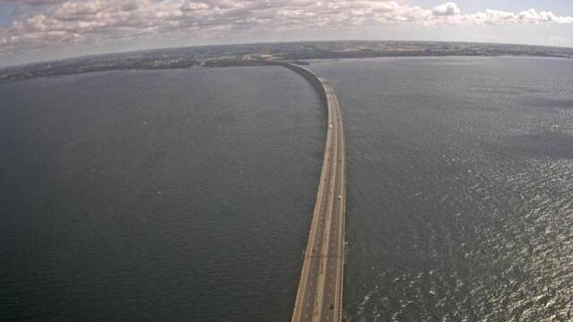 Webcam Sibbarp › East: Øresund Bridge