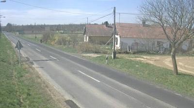 Vue webcam de jour à partir de Zalatárnok › West