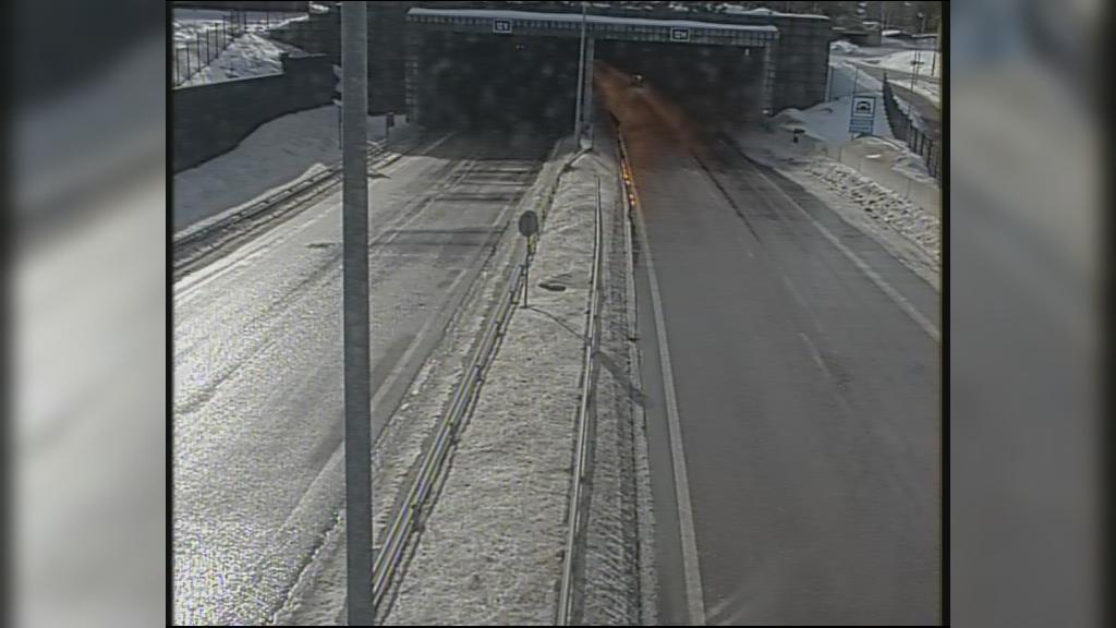Webkamera Hamina: Tie 7 − Husula, puomi itä − Tie 7, Husula