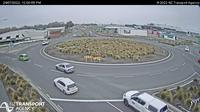 Last daylight view from Harewood › South: SH1 − Rd, Christchurch