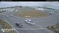 Ultima vista de la luz del día desde Harewood › South: SH1 − Rd, Christchurch