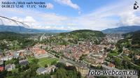 Dernière vue de jour à partir de Feldkirch: Blick nach Norden