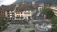 La Roche-sur-Foron: Place de la république - Actuelle