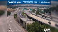 Arlington View: I- - MM - SB - Exit B, Route - Washington Blvd - El día