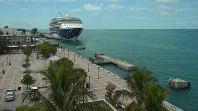 Tageslicht webcam ansicht von Key West: Mallory square