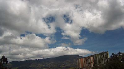 Vue webcam de jour à partir de Barrio La Carolina: Volcan Galeras − Pasto