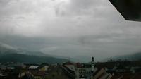 Leoben: Schwammerlturm - Blick zum Alten Rathaus - Day time