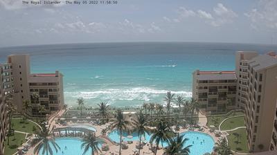 Tageslicht webcam ansicht von Cancún