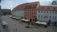 Quedlinburg: Hotel Zum Bär und Marktplatz - Overdag