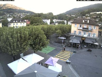Monthey: Place Centrale (South)