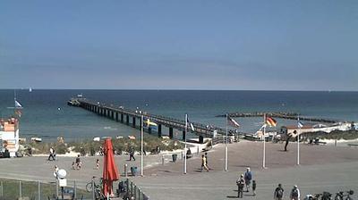 Vista de cámara web de luz diurna desde Schönberger Strand: Schonberger Strand − Promenade