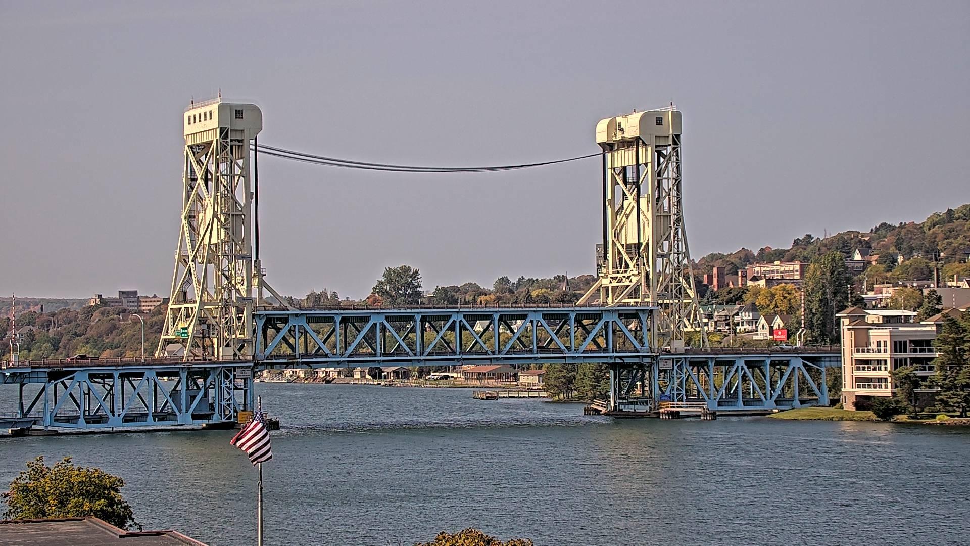 Webcam Hurontown: Houghton − Bridge