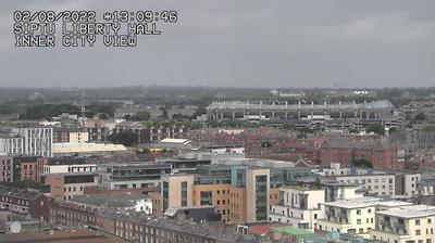 Daylight webcam view from IFSC: Streaming video webcam in Dublin