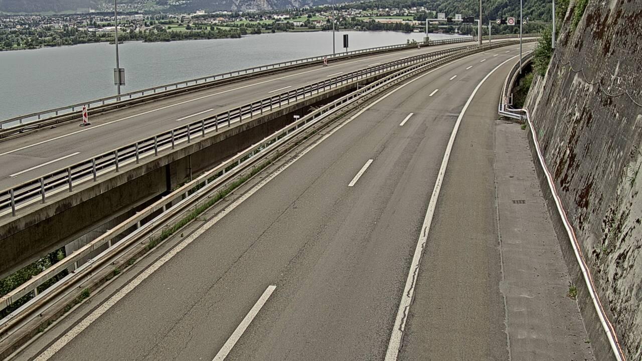Webcam Bauen: A2/E35 Seelisbergtunnel Sud dir. Nord