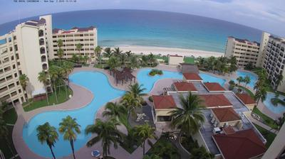 Webcam Club Mediterráneo: Cancún, The Royal Caribbean