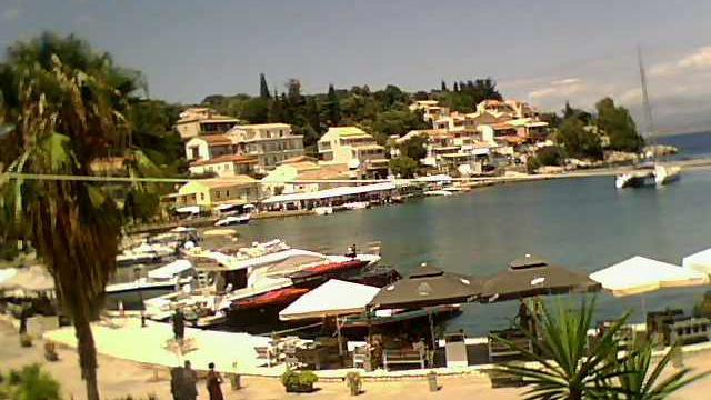 Webkamera Kassiopi: Harbour Bar