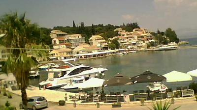 Daylight webcam view from Kassiopi: Harbour Bar