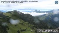 Bayrischzell: Wendelsteinbahn Bergstation - Gacher Blick nach S�dosten - Overdag