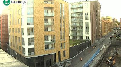 Webcam Norrköping: Karlstad: Följ bygget av kvarteret Bar