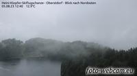 Oberstdorf: Heini-Klopfer-Skiflugschanze - Blick nach Nordosten - Overdag