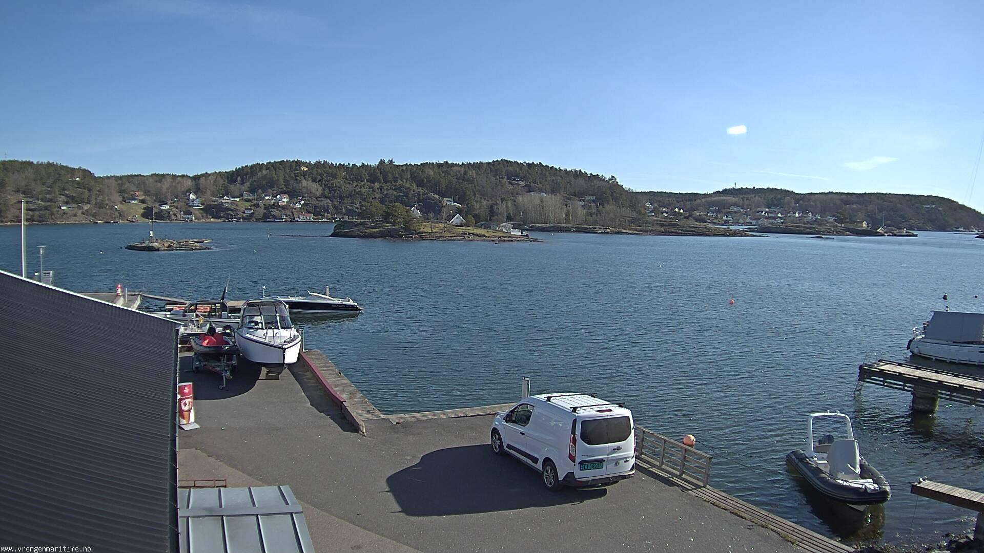 Webcam Fergeodden, Færder, Vestfold, Norwegen