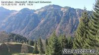 Oberstdorf: Gerstruben - Blick nach S�dwesten - Dia