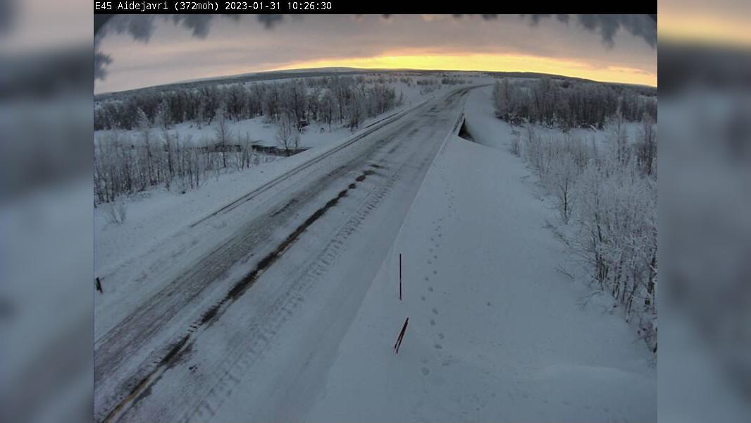 Webcam Åskal: R93 Aidejavri (Retning sør, 351 moh)
