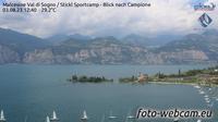 Malcesine: Val di Sogno - Stickl Sportcamp - Blick nach Campione - Dagtid