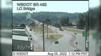 Rainier › North: SR  at MP .: Lewis and Clark Bridge - Overdag