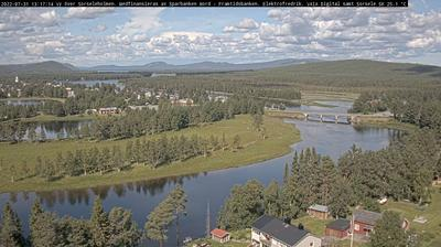 Daylight webcam view from Sorsele