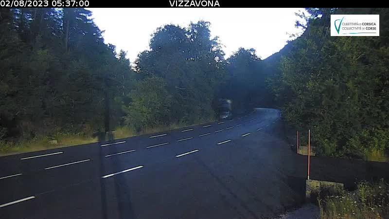 Webcam Corse: Vivario − Vizzavona − Venaco − Bocognano −