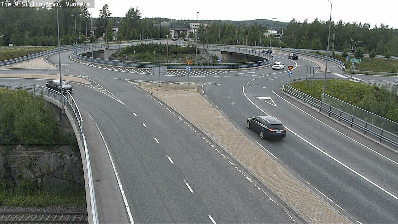 Webcam Siilinjärvi: Tie 9 Vuorela − Kuopioon