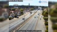 Sutton: A Kingston Bypass/South Lane - Current