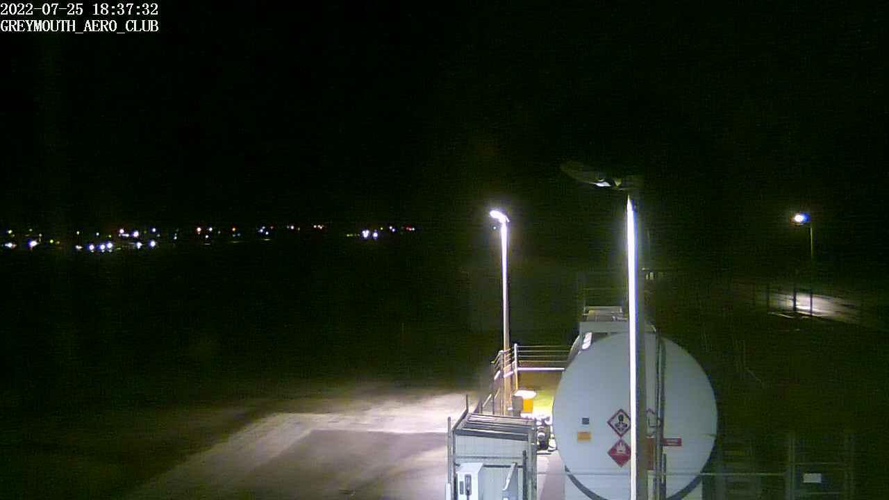 Webcam Greymouth: Greymouth Airport