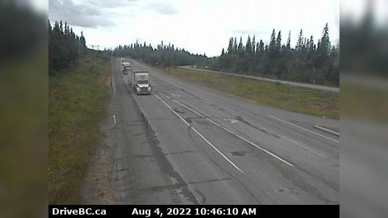 Webcam Fraser Lake › West: Hwy 16, at Nautley Road, looki