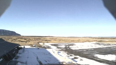 Daylight webcam view from Puerto Bories: Tte. Julio Gallardo Airport − Magallanes